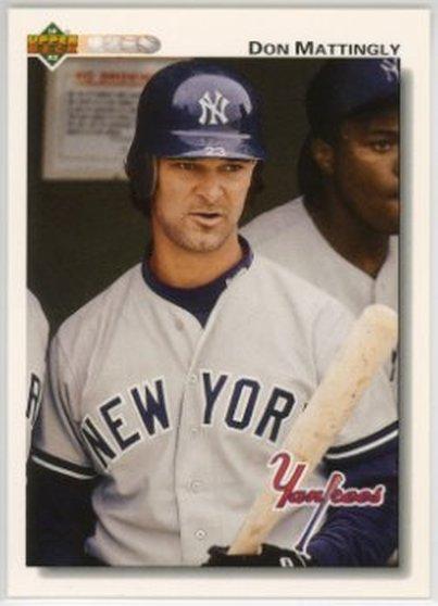 1992 Upper Deck #356 Don Mattingly NM-MT Yankees