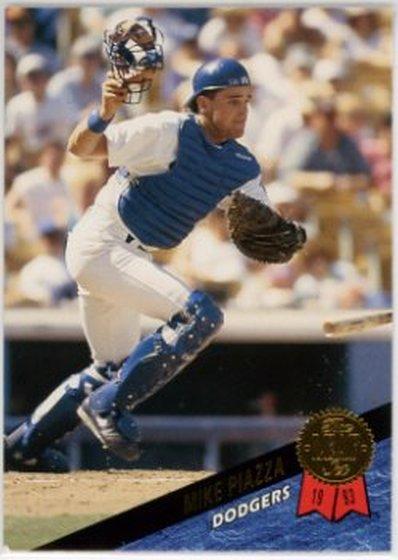 1993 Leaf #35 Mike Piazza NM-MT Dodgers