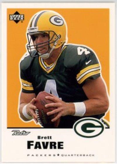 1999 Upper Deck Retro #58 Brett Favre NM-MT Packers