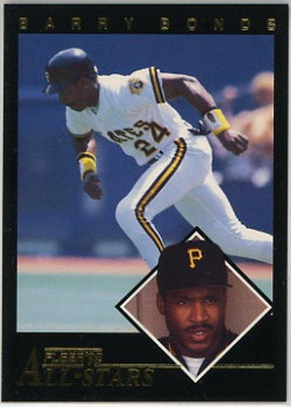 1992 Fleer All-Stars #3 Barry Bonds NM-MT Pirates