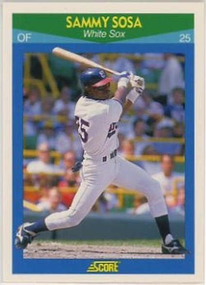 1990 Score Rising Stars #35 Sammy Sosa NM-MT White Sox