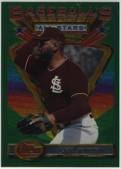 1993 Finest #95 Lee Smith NM-MT Cardinals