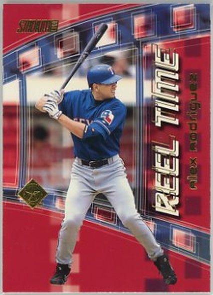 2002 Stadium Club Reel Time #RT4 Alex Rodriguez NM-MT Rangers