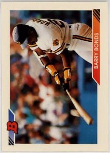 1992 Bowman #60 Barry Bonds NM-MT Giants