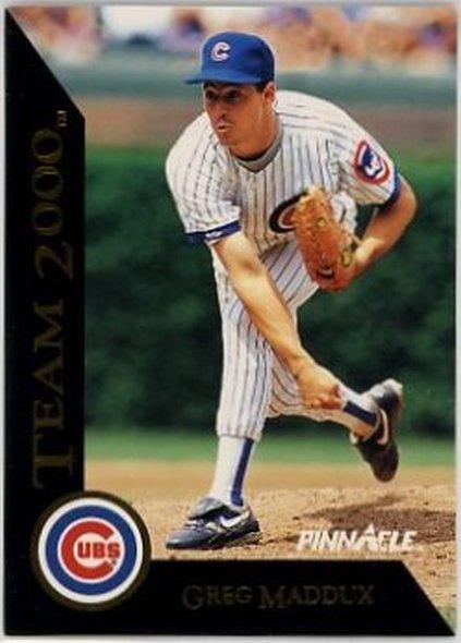 1992 Pinnacle Team 2000 #32 Greg Maddux NM-MT Cubs