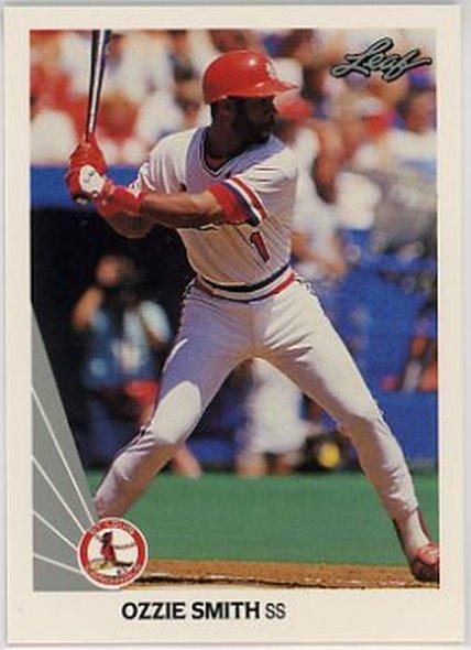 1990 Leaf #142 Ozzie Smith NM-MT Cardinals
