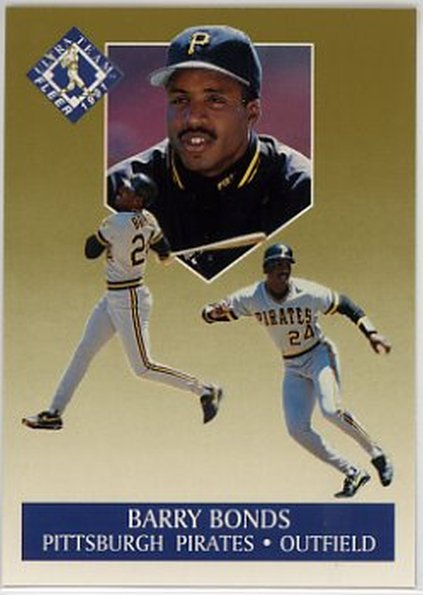 1991 Ultra Gold #1 Barry Bonds NM-MT Pirates