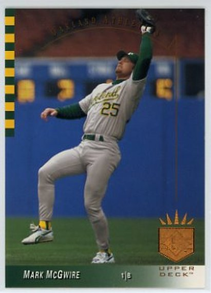 1993 SP #41 Mark McGwire NM-MT Athletics