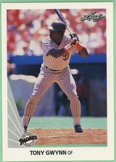 1990 Leaf #154 Tony Gwynn NM-MT Padres