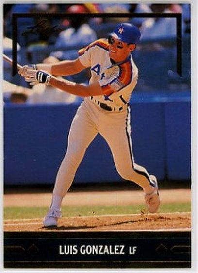 1991 Leaf Gold Rookies #BC2 Luis Gonzalez NM-MT Astros