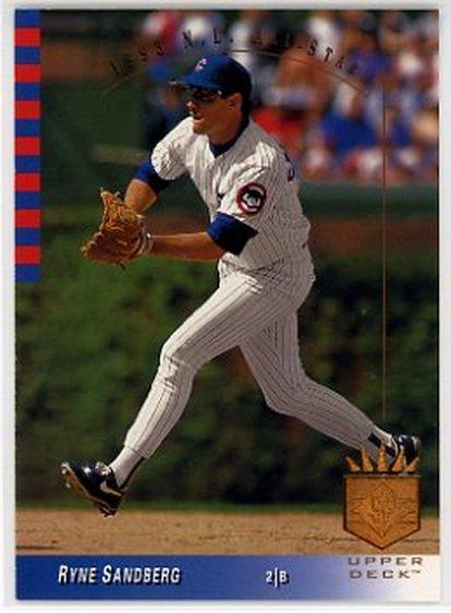 1993 SP #17 Ryne Sandberg NM-MT Cubs