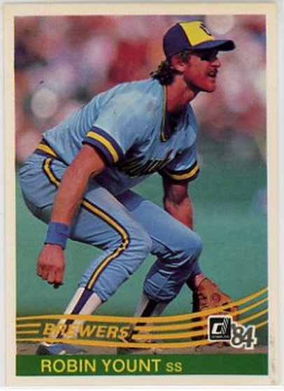 1984 Donruss #48 Robin Yount NM-MT Brewers