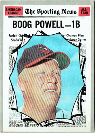 1970 Topps #451 Boog Bowell NM-MT Orioles