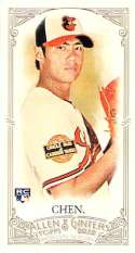 2012 Allen and Ginter Mini A and G Back #178 Wei-Yin Chen NM-MT