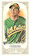 2012 Allen and Ginter Mini A and G Back #79 Yoenis Cespedes NM-MT RC Rookie