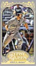 2012 Topps Gypsy Queen Mini #349 Dustin Ackley NM-MT Mariners