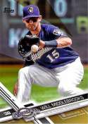 2017 Topps Gold #46 Will Middlebrooks NM-MT /2017