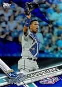 2017 Topps Opening Day Blue Foil #23 Salvador Perez 1:7 Packs NM-MT