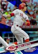 2017 Topps Opening Day Blue Foil #33 Joey Votto 1:7 Packs NM-MT