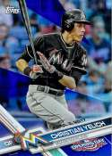 2017 Topps Opening Day Blue Foil #99 Christian Yelich 1:7 Packs NM-MT
