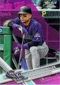 2017 Topps Chrome Pink Refractor #76 Carlos Gonzalez NM-MT