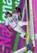 2017 Topps Chrome Pink Refractor #131 Lorenzo Cain NM-MT
