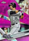 2017 Topps Chrome Pink Refractor #27 Ian Desmond NM-MT