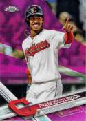 2017 Topps Chrome Pink Refractor #126 Francisco Lindor NM-MT