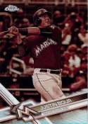 2017 Topps Chrome Sepia Refractor #181 Justin Bour NM-MT