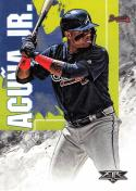 2019 Topps Fire #37 Ronald Acuna Jr. NM-MT Atlanta Braves
