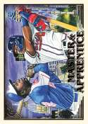 2019 Topps Gallery Master and Apprentice #MA-AA Hank Aaron/Ronald Acu�a Jr. NM-MT Atlanta Braves